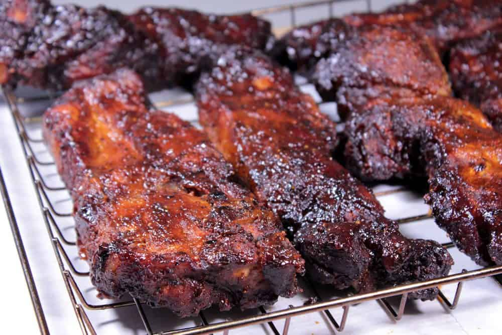 How long does it take to cook boneless pork ribs on the grill