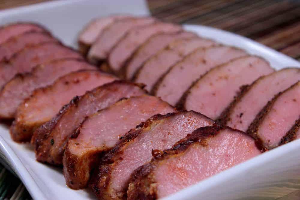 Recipe for smoking pork loin