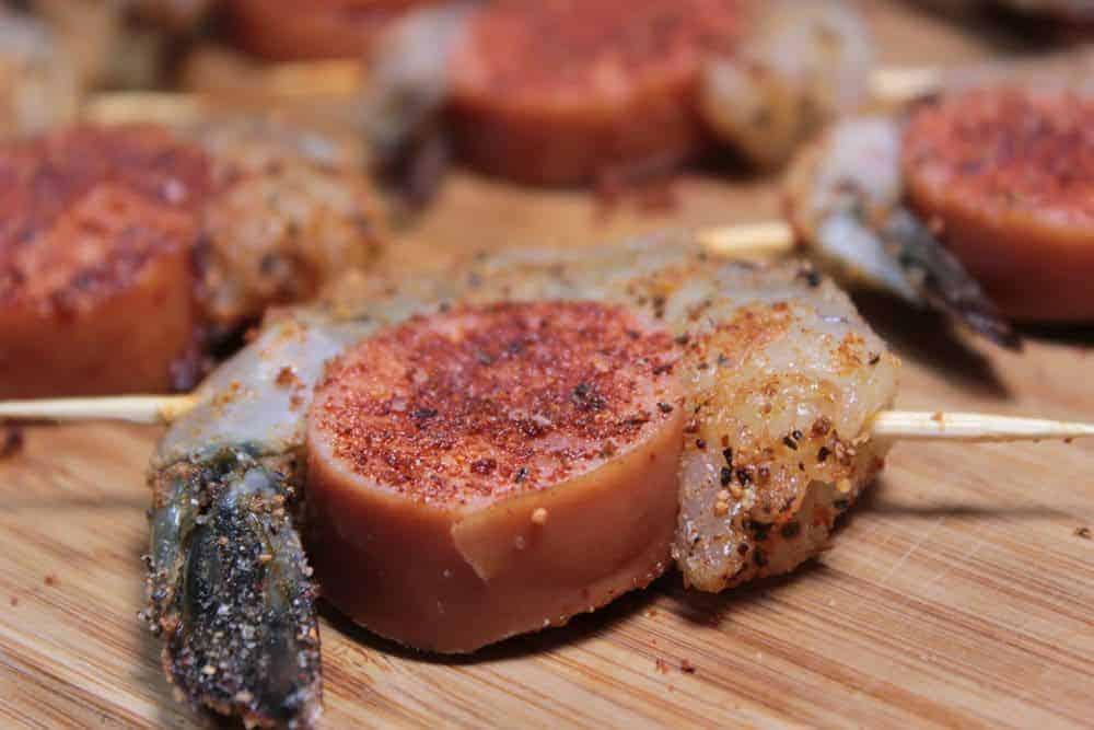 smoked shrimp and sausage