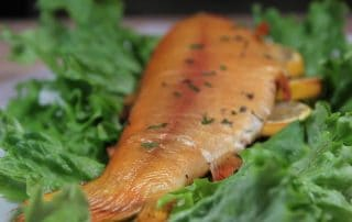 smoked-trout-with-herbs-and-lemon