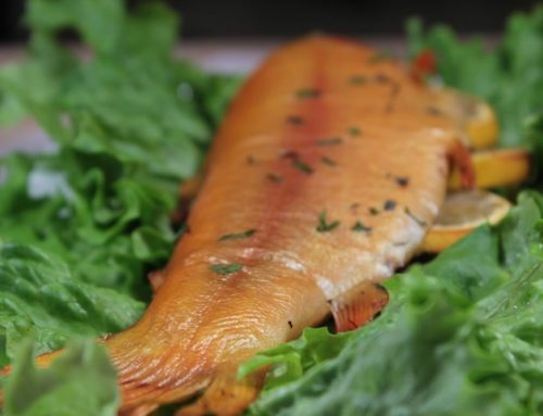 Smoked Trout with Lemon and Herbs