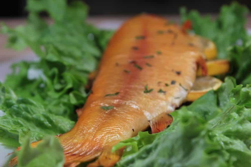 Smoked Trout Golden With Lemon And Herbs Smoking Meat Newsletter