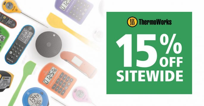 ThermoWorks Sale 15% Off Sitewide